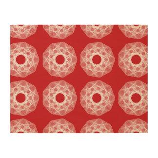 Guilloche Net pattern 2 Wood Print