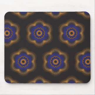 Guilloche Netted Patterns blck Mouse Pad