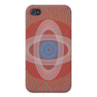 Guilloche Pattern 2 iPhone 4/4S Cases
