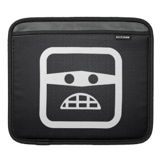 Guilt Emoticons Pictogram Sleeve For iPads