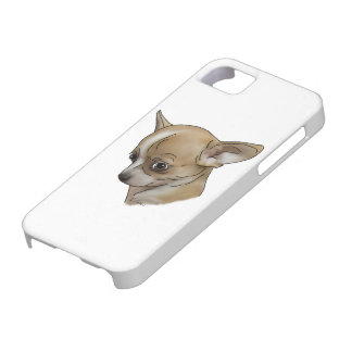 Guilty Chihuahua Puppy Portrait Print iPhone 5 Cover