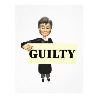 Guilty Custom Flyer