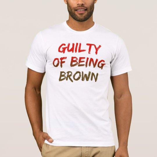 Guilty of Being Brown (Sunburst Logo) T-Shirt