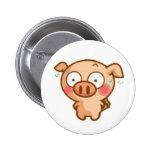 Guilty Piggy In Headlights Pins