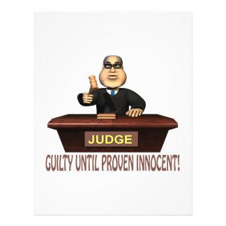 Guilty Until Proven Innocent Flyer