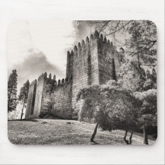 Guimaraes Castle in Portugal Mouse Pads