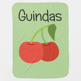 Guindas (Cherries) Baby Blanket