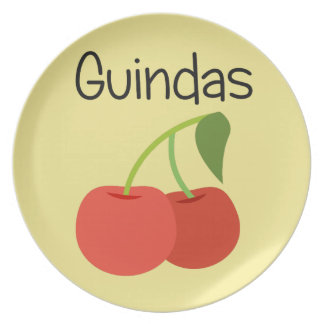Guindas (Cherries) Plate