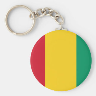 guinea basic round button key ring
