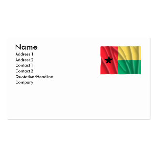 GUINEA-BISSAU BUSINESS CARD