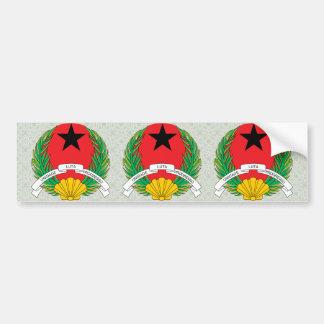 Guinea Bissau Coat of Arms detail Bumper Sticker