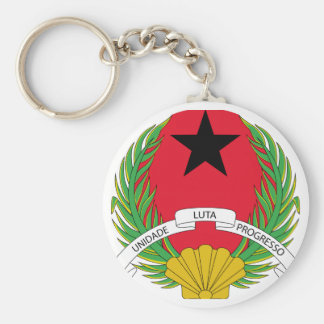 Guinea Bissau Coat of Arms Key Chains