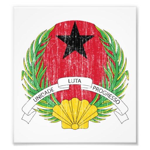 Guinea Bissau Coat Of Arms Art Photo