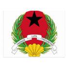 Guinea Bissau Coat Of Arms Postcard