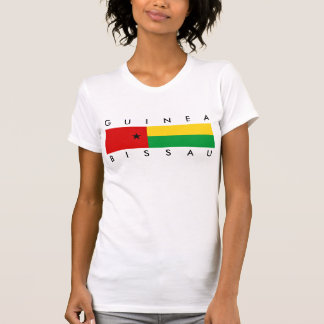 Guinea-Bissau country flag nation symbol long guin Tee Shirt