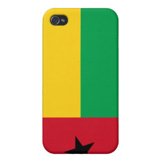 Guinea-Bissau National Nation Flag  Case For iPhone 4
