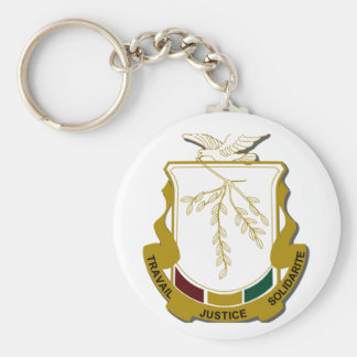 Guinea Coat of Arms Key Chains