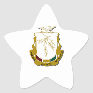 Guinea Coat of Arms Star Sticker