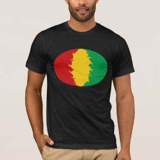 Guinea Conakry Gnarly Flag T-Shirt
