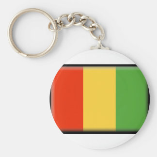 Guinea Flag Keychains