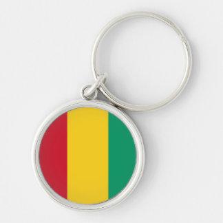 Guinea Flag Keychain