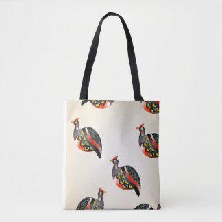 guinea fowl 35 tote bag