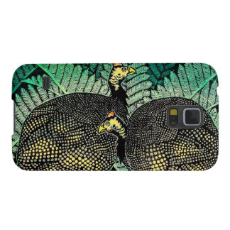 Guinea Hens kasamatsu shiro bird leaf japanese art Galaxy S5 Covers