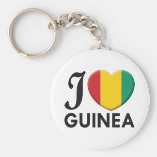 Guinea Love Key Chains