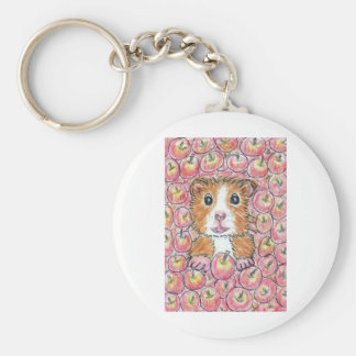 GUINEA PIG APPLES KEYCHAINS