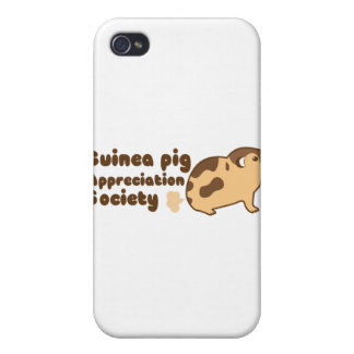 Guinea pig appreciation society GAS Case For iPhone 4