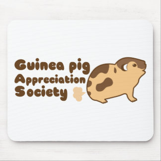 Guinea pig appreciation society GAS Mouse Pad