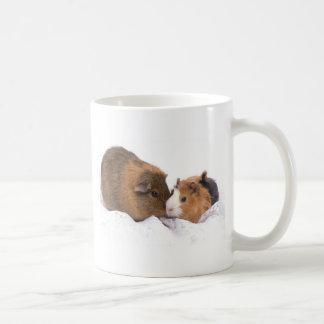 guinea pig basic white mug