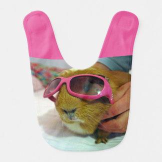 guinea pig bib pink