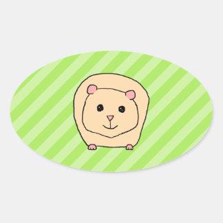 Guinea Pig Cartoon Animal Stickers