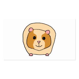 Guinea Pig Cartoon Business Card