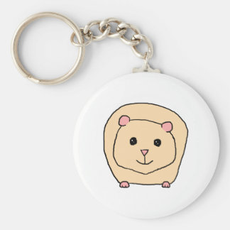 Guinea Pig Cartoon. Key Ring