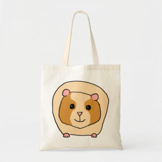 Guinea Pig Cartoon. Tote Bag