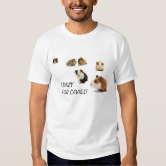 GUINEA PIG CAVIE LOVERS TEE SHIRTS