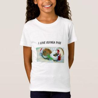 Guinea pig Christmas T-shirt