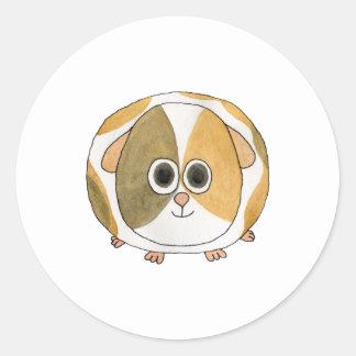 Guinea Pig. Classic Round Sticker