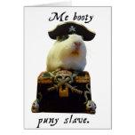 Guinea Pig Funny Pirate Cards