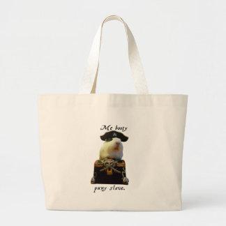 Guinea Pig Funny Pirate Jumbo Tote Bag