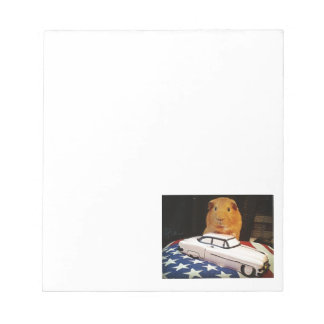Guinea Pig Gifts Notepad