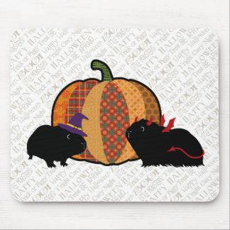 Guinea Pig Halloween Mouse Mat