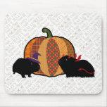 Guinea Pig Halloween Mousepads