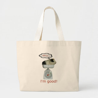 Guinea Pig Health Large Tote Bag