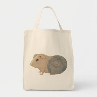 Guinea Pig in Jeans Tote Bag