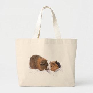 guinea pig jumbo tote bag