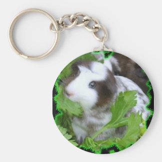 Guinea pig key chain