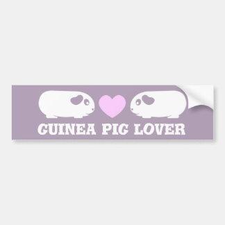 Guinea Pig Love Bumper Sticker